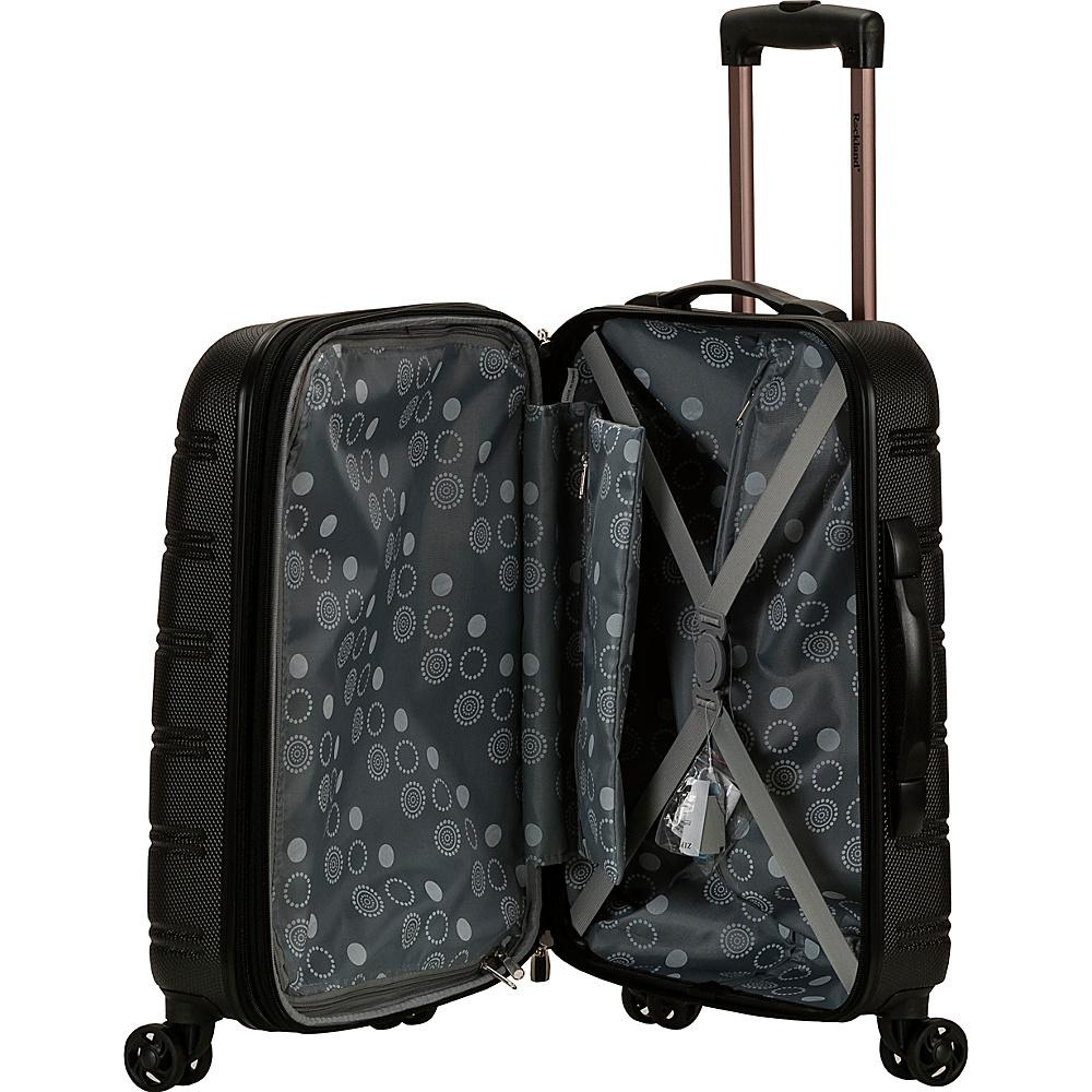 "Rockland Luggage 20"" The Bullet II Hardside Spinner"