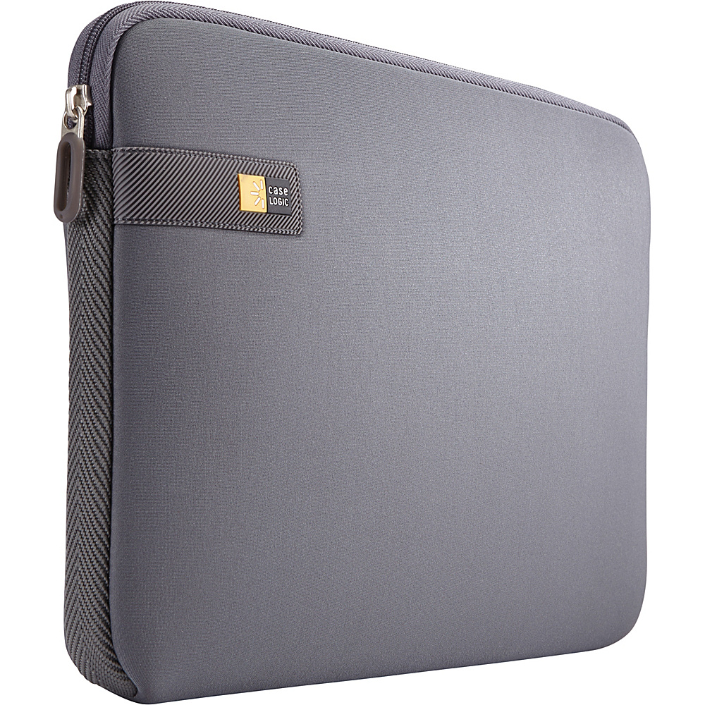 Case Logic 13.3 Laptop and MacBook Sleeve Graphite Case Logic Electronic Cases