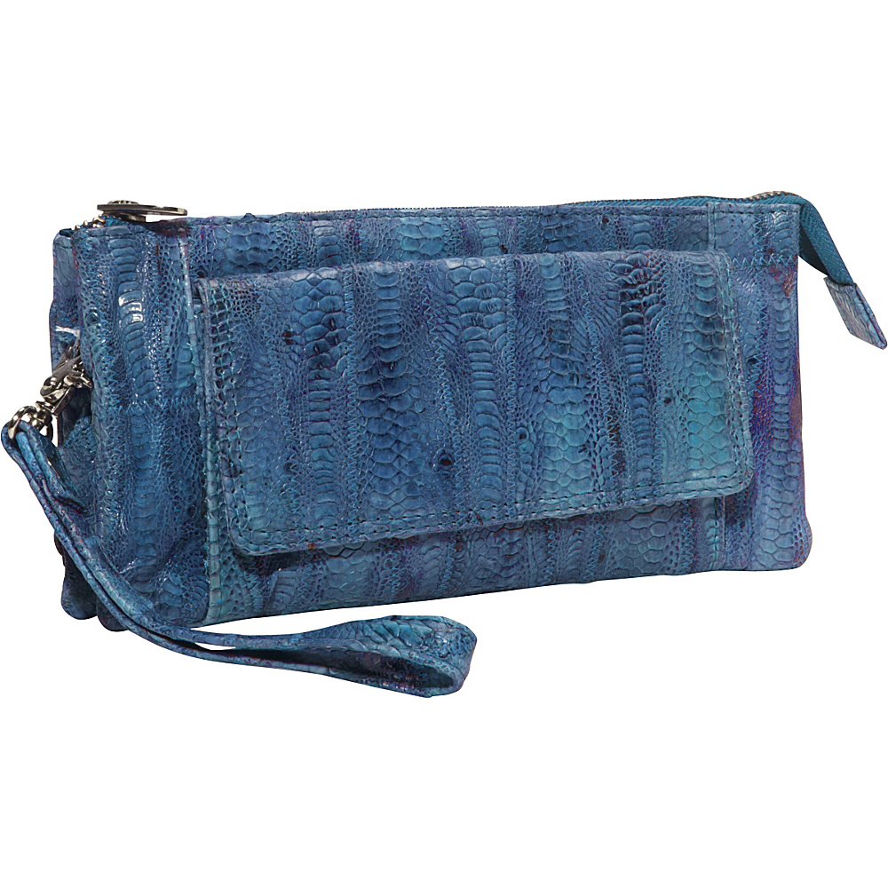 Latico Leathers Millicent Royal Blue Latico Leathers Leather Handbags