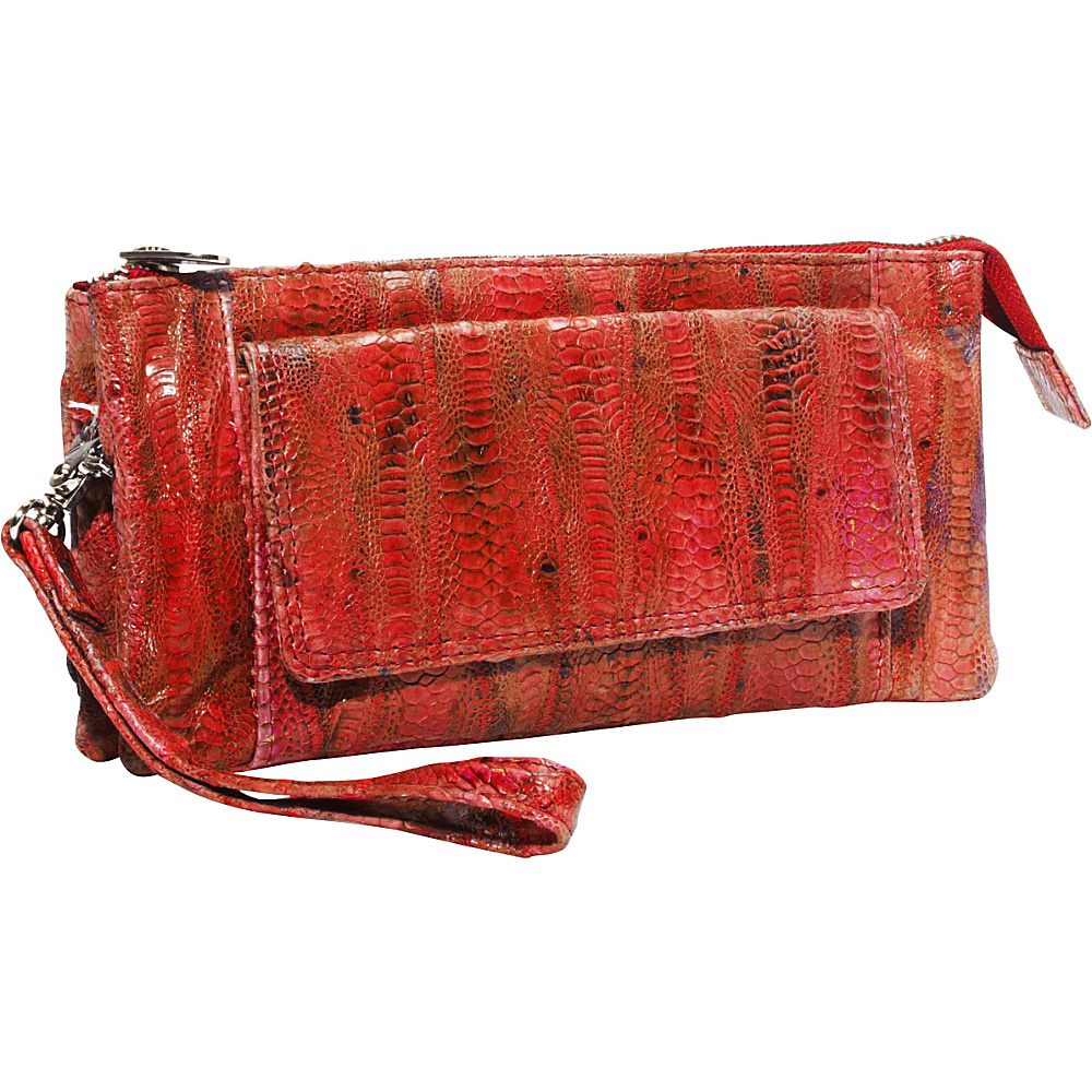 Latico Leathers Millicent Red Latico Leathers Leather Handbags