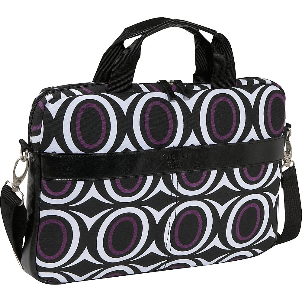 Nuo Kailo Chic 14 Slim Laptop Brief - Ovals - Work Bags & Briefcases, Non-Wheeled Business Cases