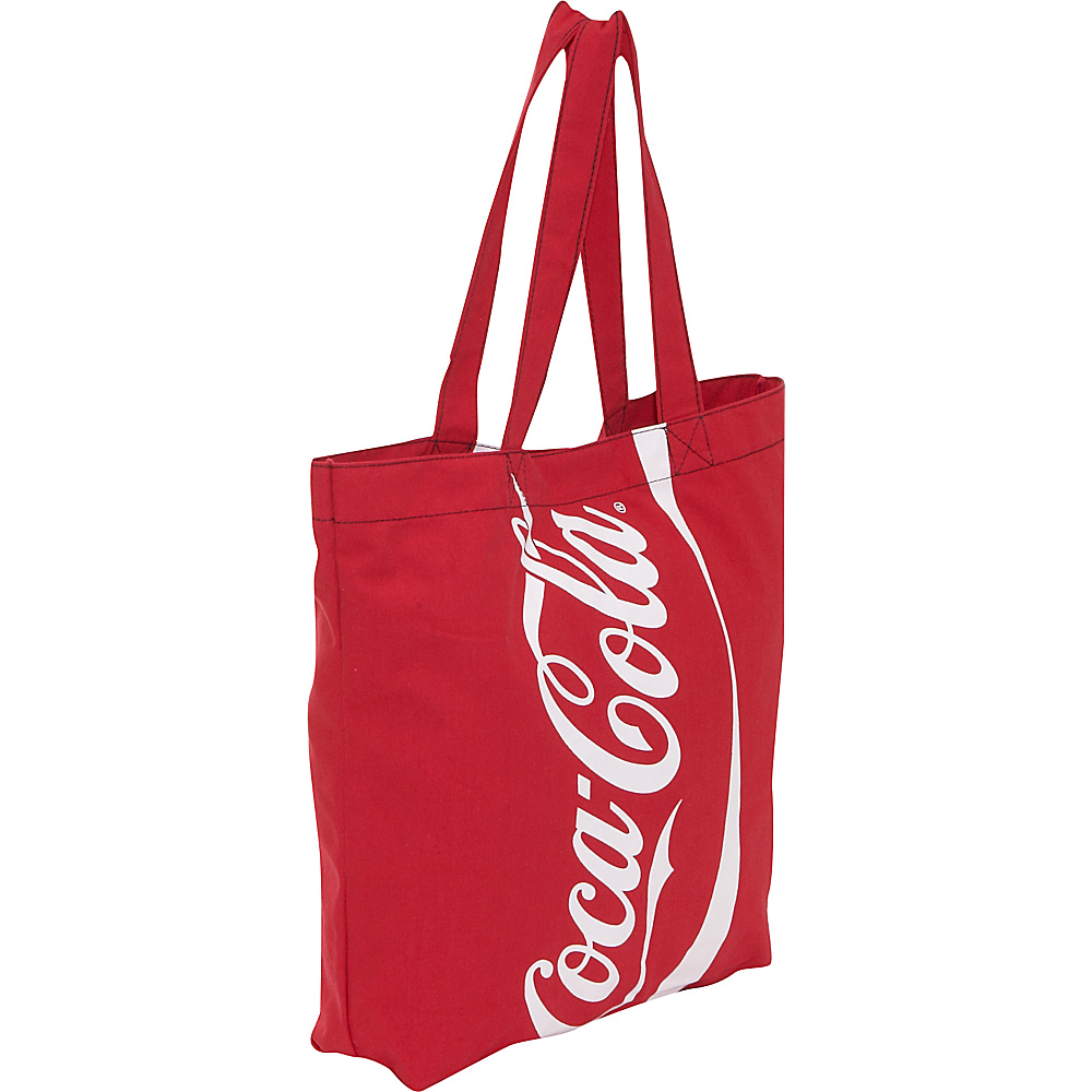Ashley M Coca-Cola Tote Bag in Recycled Material - Tote - Handbags, Fabric Handbags