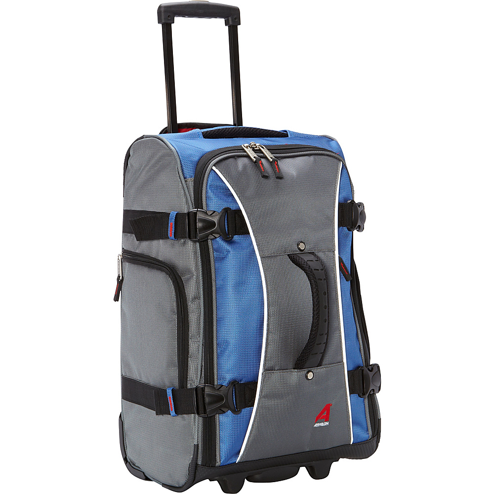 Athalon 21 Hybrid Travelers Carry On GlacierBlue Athalon Softside Carry On