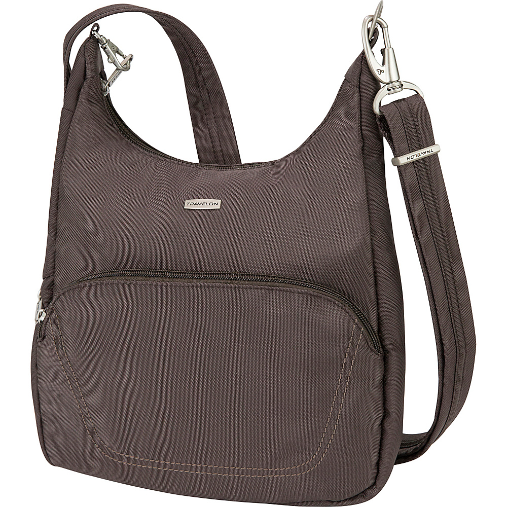 Travelon Anti-Theft Essential Messenger Bag - Cross Body - Handbags, Fabric Handbags