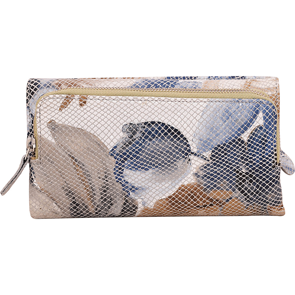 Latico Leathers Bell Wallet Lagoon - Latico Leathers Womens Wallets - Women's SLG, Women's Wallets