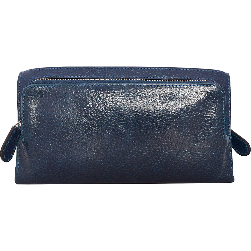 Latico Leathers Bell Wallet Pebble Navy - Latico Leathers Womens Wallets - Women's SLG, Women's Wallets