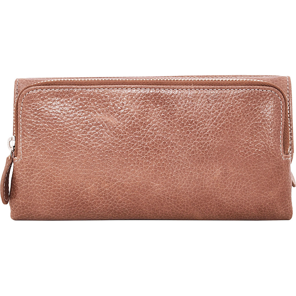 Latico Leathers Bell Wallet Pebble Taupe - Latico Leathers Womens Wallets - Women's SLG, Women's Wallets