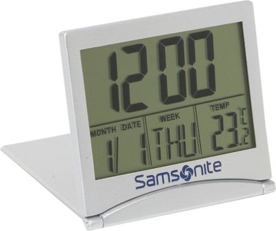 Samsonite Travel Accessories Digital Travel Alarm Clock