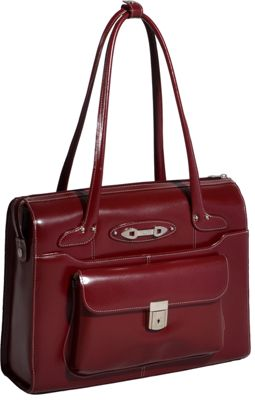 McKlein USA Wenonah Ladies Leather Laptop Briefcase
