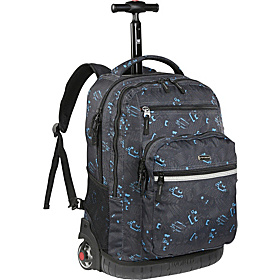 Sundance Laptop Rolling Backpack Blinker Bk