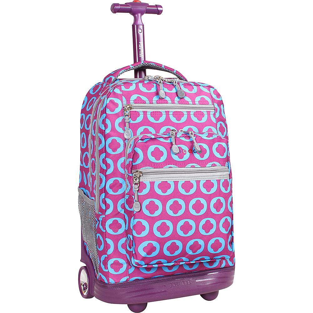 J World New York Sundance Laptop Rolling Backpack J LOGO - J World New York Rolling Backpacks - Backpacks, Rolling Backpacks