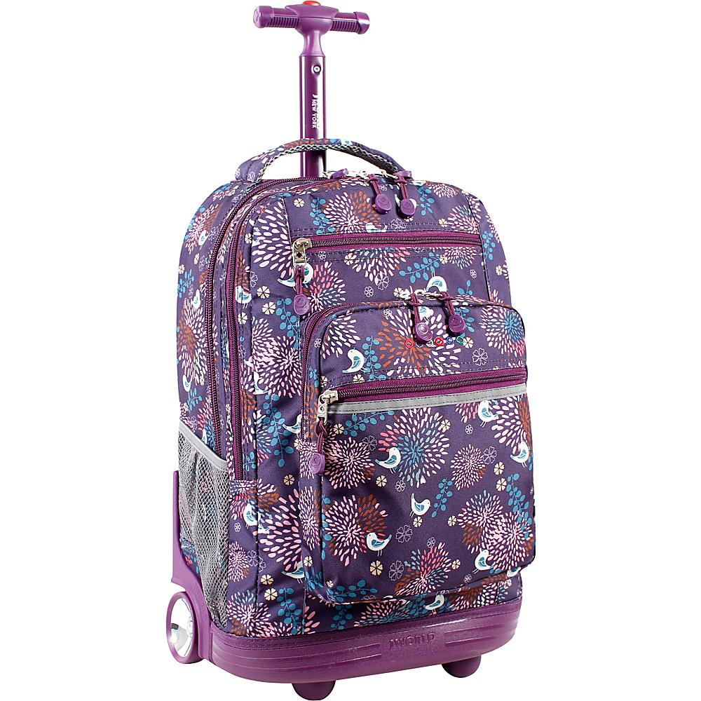 J World New York Sundance Laptop Rolling Backpack BABY BIRDY - J World New York Rolling Backpacks - Backpacks, Rolling Backpacks