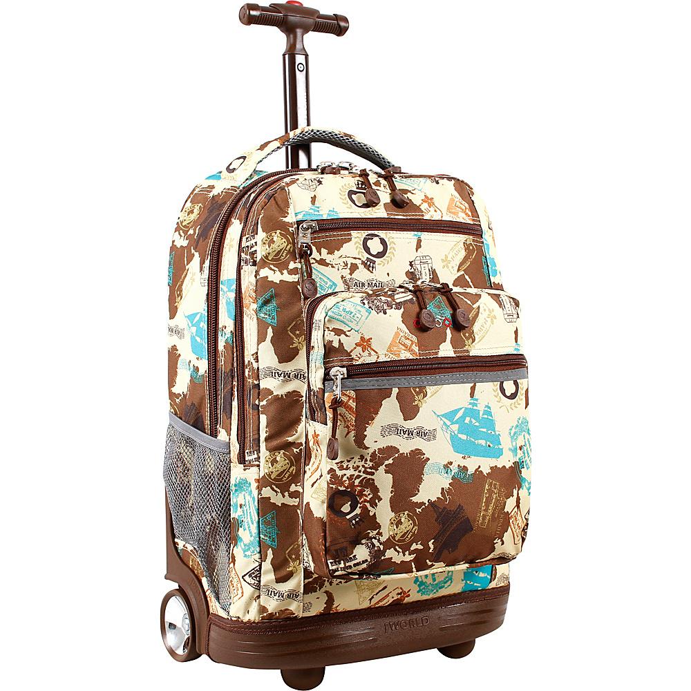 J World New York Sundance Laptop Rolling Backpack Atlas - J World New York Rolling Backpacks - Backpacks, Rolling Backpacks
