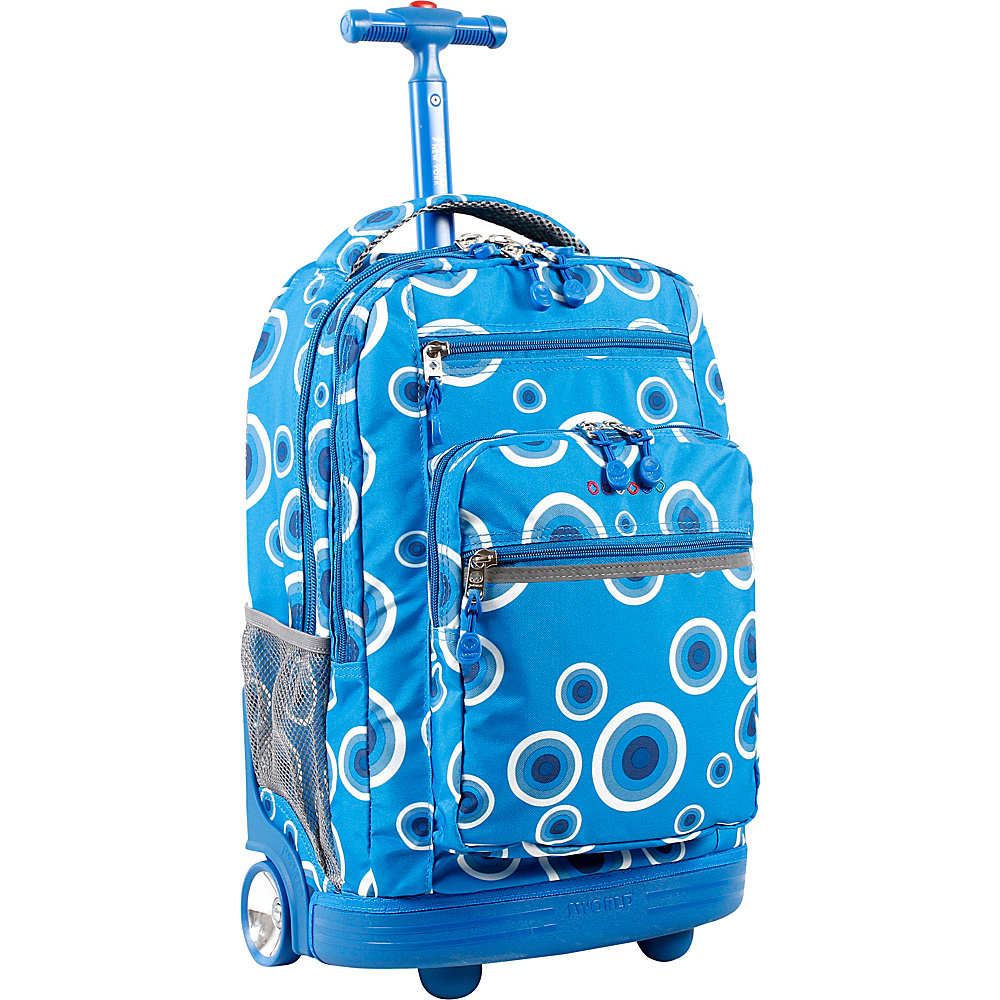 J World Sundance Laptop Rolling Backpack - Blue Target