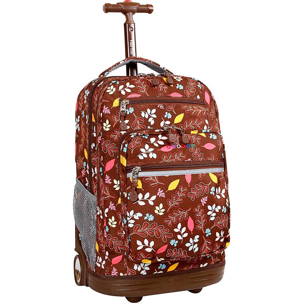 J World New York Sundance Laptop Rolling Backpack Autumn - J World New York Rolling Backpacks - Backpacks, Rolling Backpacks