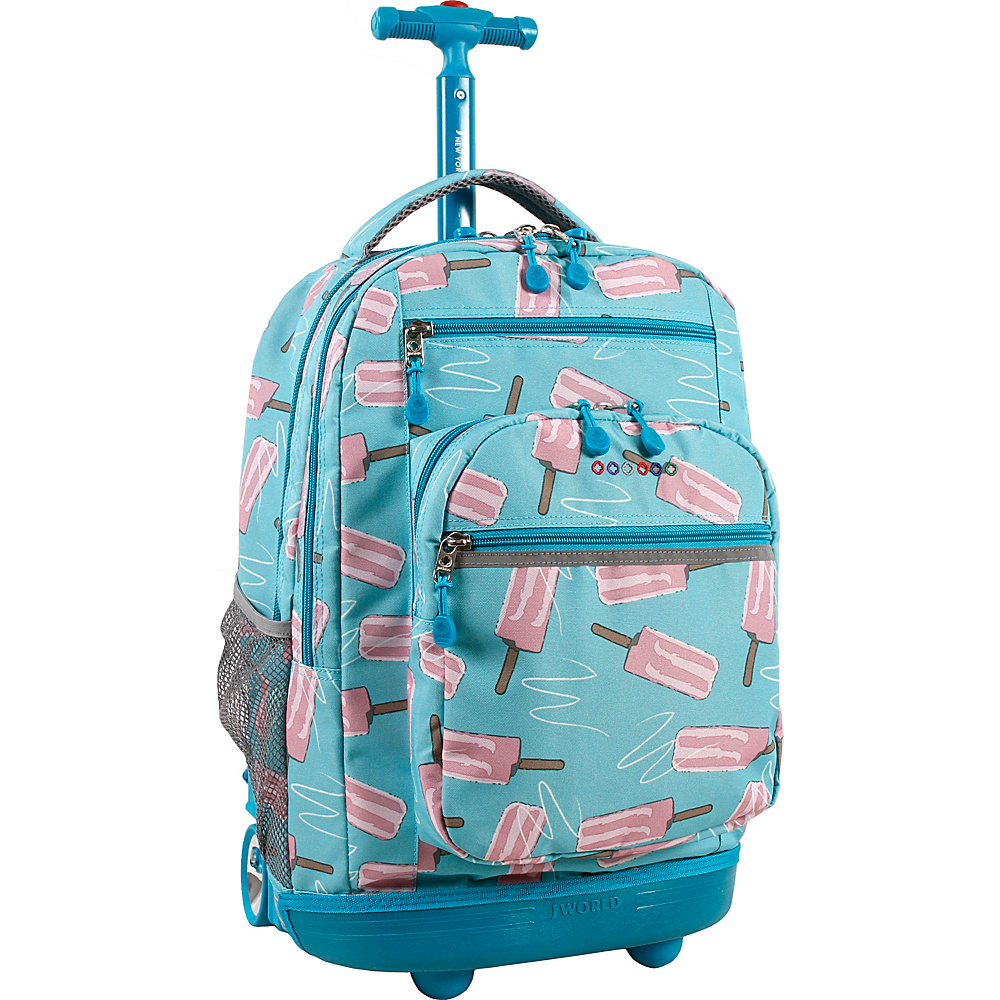 J World New York Sundance Laptop Rolling Backpack Ice Pop - J World New York Rolling Backpacks - Backpacks, Rolling Backpacks