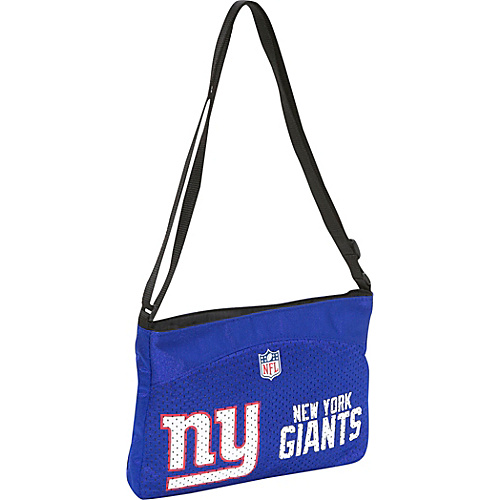 Littlearth NFL Jersey Mini Purse/New York Giants New York Giants - Littlearth Fabric Handbags