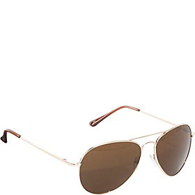 Fashion Aviator Sunglasses Gold