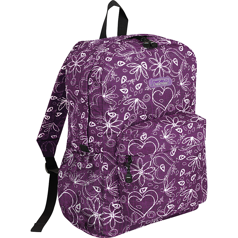 J World Oz - Love Purple - Backpacks, Everyday Backpacks
