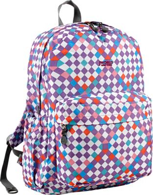 J World New York Oz School Backpack CHECKMATE - J World New York Everyday Backpacks