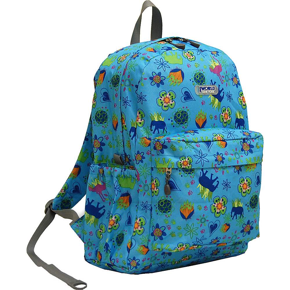 J World New York Oz School Backpack JUNGLE - J World New York Everyday Backpacks - Backpacks, Everyday Backpacks