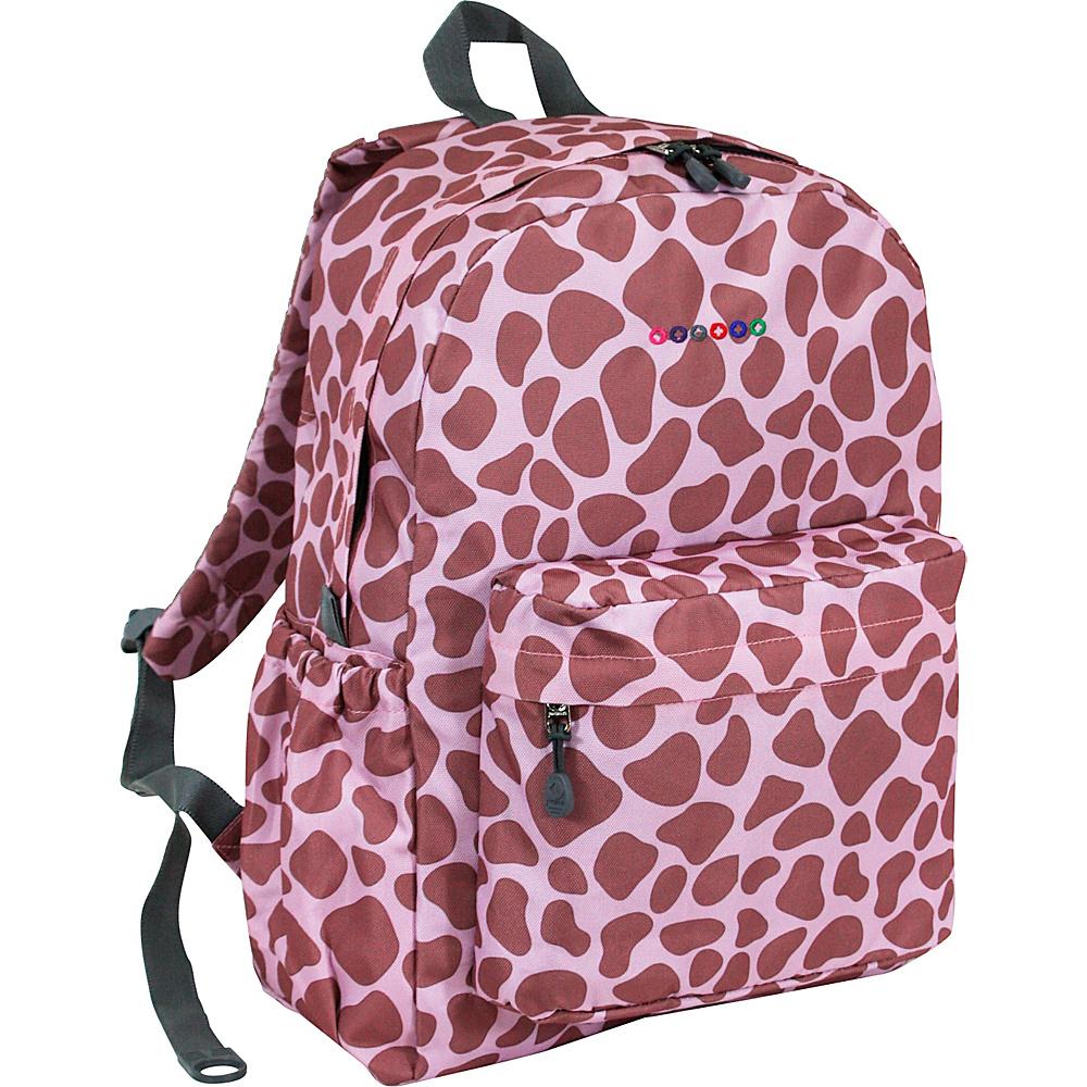 J World New York Oz School Backpack PINK ZULU - J World New York Everyday Backpacks - Backpacks, Everyday Backpacks