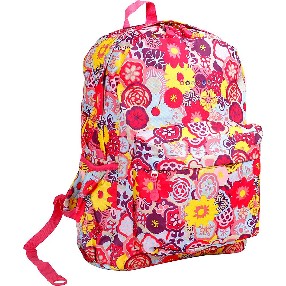 J World New York Oz School Backpack POPPY PANSY - J World New York Everyday Backpacks - Backpacks, Everyday Backpacks