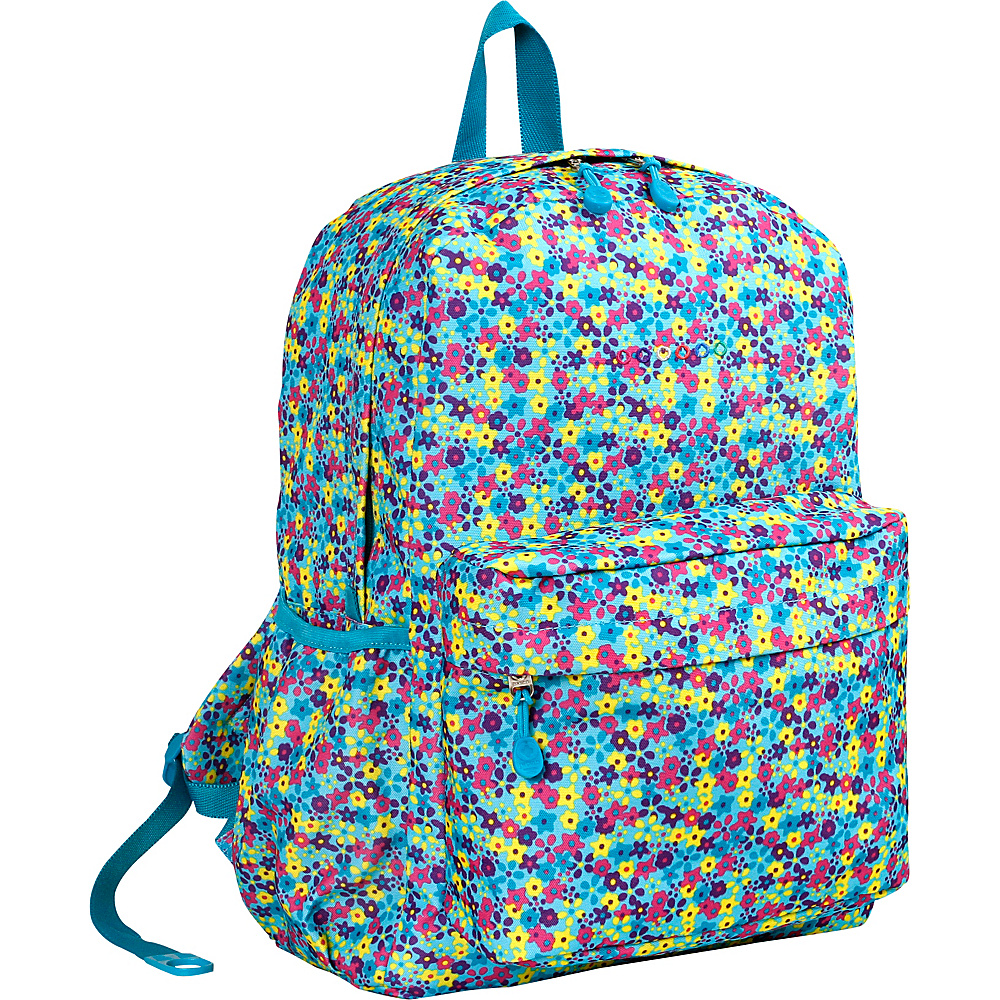 J World New York Oz School Backpack Floret - J World New York Everyday Backpacks - Backpacks, Everyday Backpacks
