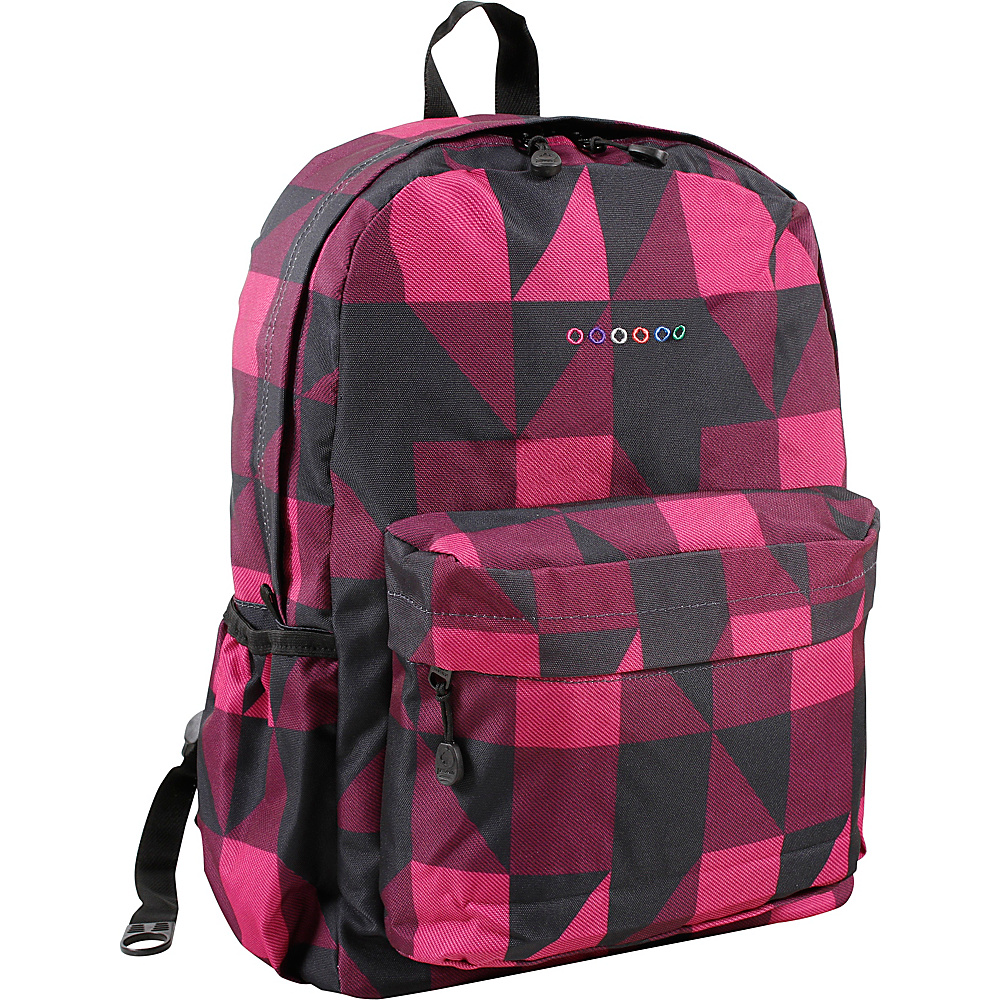 J World New York Oz School Backpack Block Pink - J World New York Everyday Backpacks - Backpacks, Everyday Backpacks