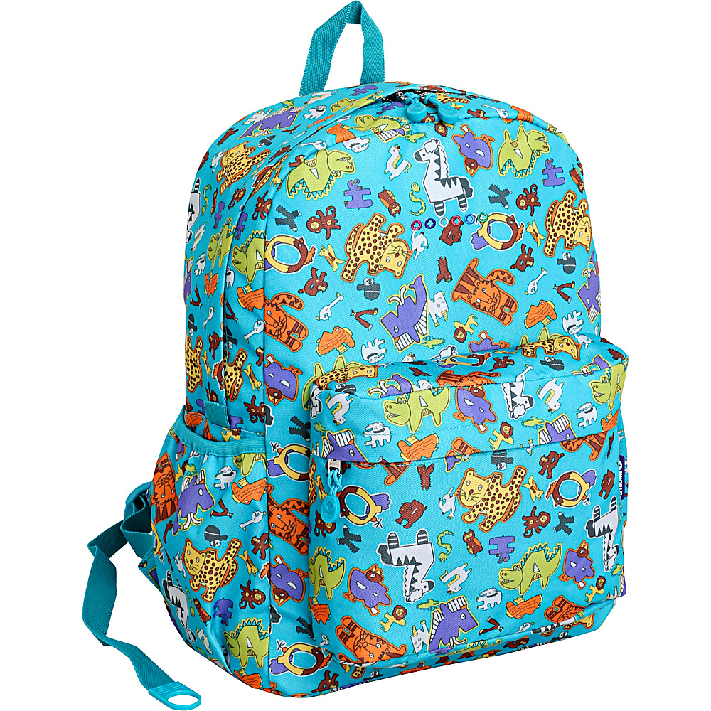 J World New York Oz School Backpack Aniphabets - J World New York Everyday Backpacks - Backpacks, Everyday Backpacks