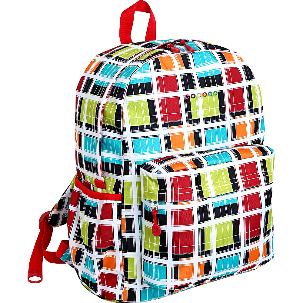 J World New York Oz School Backpack Colorstrip - J World New York Everyday Backpacks - Backpacks, Everyday Backpacks