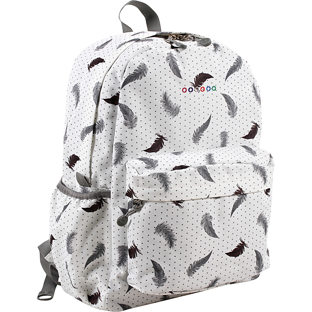 J World New York Oz School Backpack Feather - J World New York Everyday Backpacks - Backpacks, Everyday Backpacks