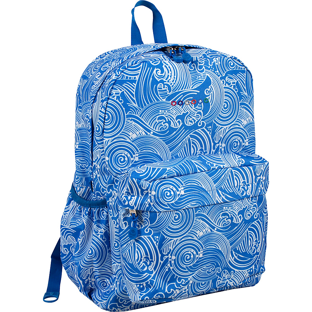 J World New York Oz School Backpack Wave - J World New York Everyday Backpacks - Backpacks, Everyday Backpacks