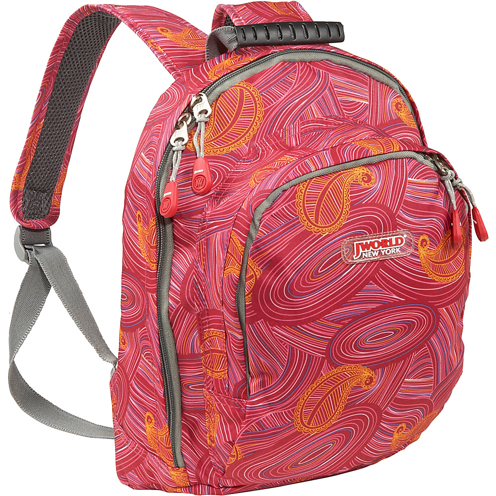 J World Lakonia Mini Backpack - Paisley - Backpacks, Everyday Backpacks