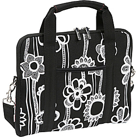 Fashionaire iPad Shuttle Black/White Print
