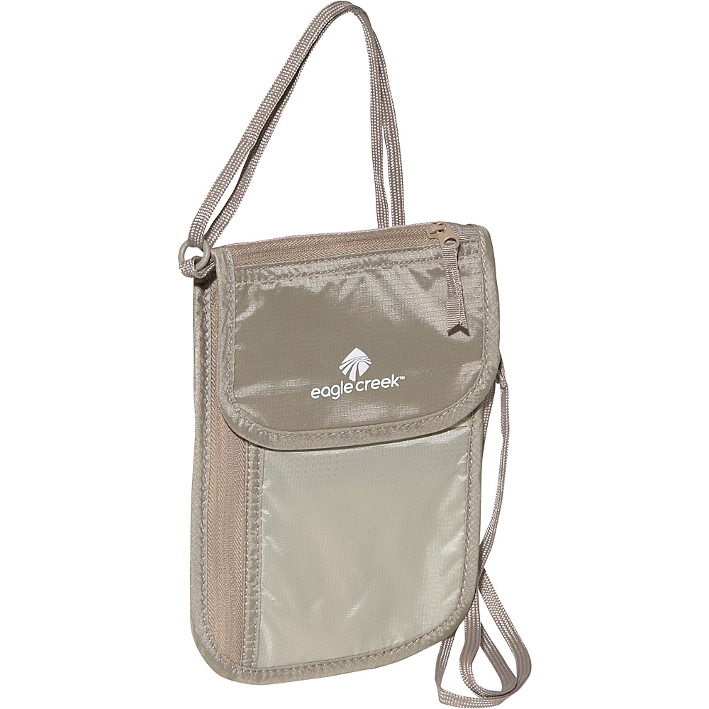 Eagle Creek Undercover Neck Wallet DLX - Khaki - Travel Accessories, Travel Wallets