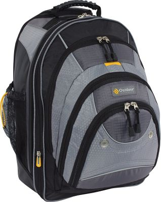 Outdoor Products Sea-Tac Rolling Backpack Graphite - Outdoor Products Rolling Backpacks