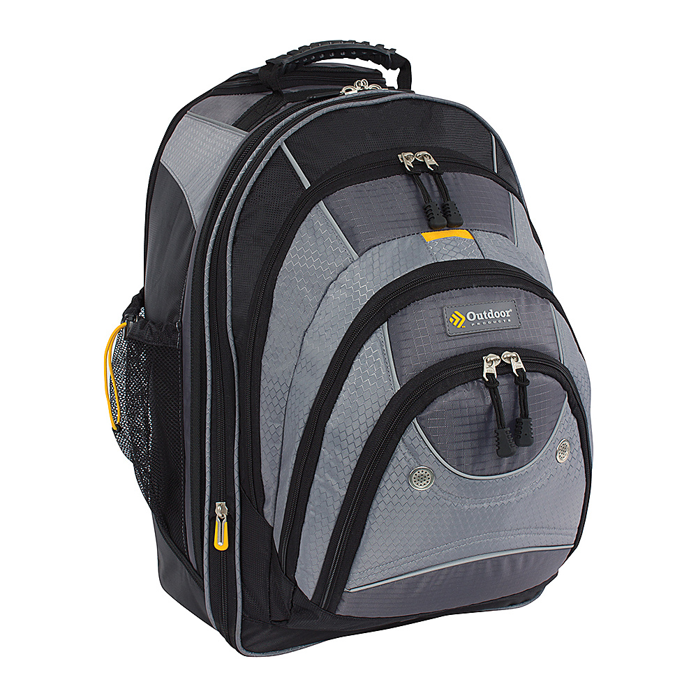 Outdoor Products Sea Tac Rolling Backpack Graphite Outdoor Products Rolling Backpacks
