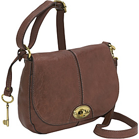 Carson Flap Crossbody Brown