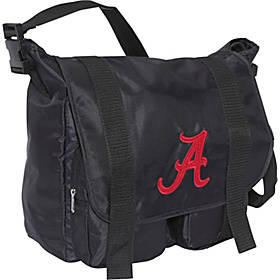 Alabama Crimson Tide Sitter Diaper Bag Black