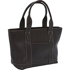 Double Strap Small Pocket Tote Café