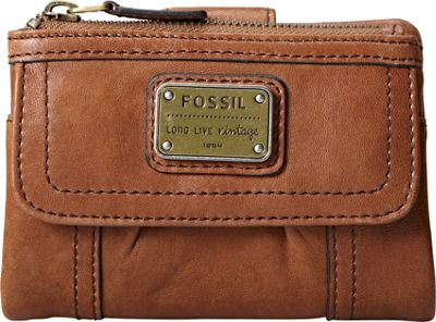 Fossil Emory Multifunction Saddle Fossil Ladies Small Wallets