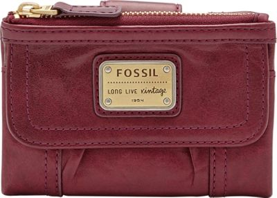 Fossil Emory Multifunction Maroon - Fossil Ladies Small Wallets