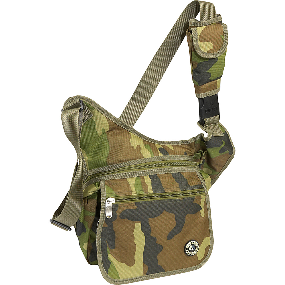 Everest Jungle Camo Messenger Bag - Jungle Camo - Work Bags & Briefcases, Other Men's Bags