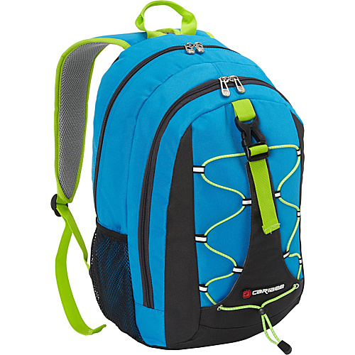 Caribee Impala Day Pack Blue - Caribee School & Day Hiking Backpacks
