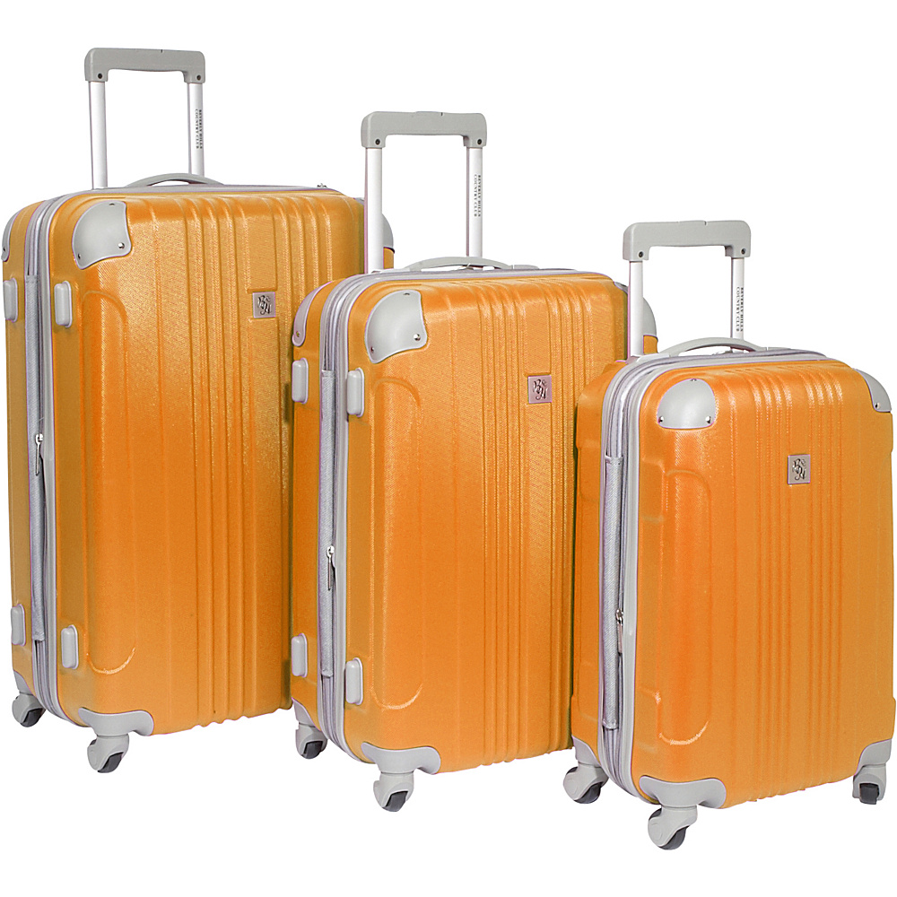 Beverly Hills Country Club Malibu 3 Piece Hardside - Luggage, Luggage Sets