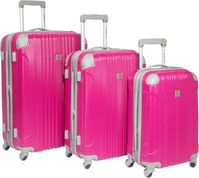 Beverly Hills Country Club Newport 3-Piece Spinner Luggage Set NEW ...