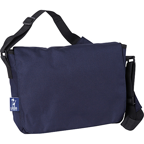 Wildkin Navy Blue Kickstart Messenger Bag - Navy Blue