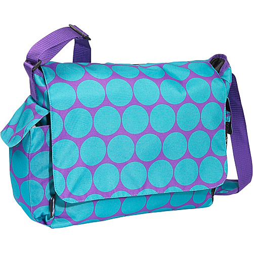 Wildkin Big Dots Aqua Diaper Bag - Big Dots Aqua