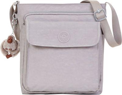 Kipling Machida Crossbody Bag Slate Grey - Kipling Fabric Handbags